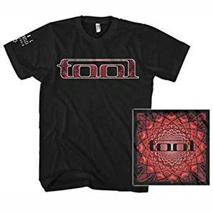 Tool Band Logo Red Pattern Heavy Metal Shirt